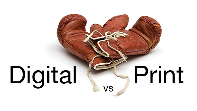 Digital vs. Print. Ragione ed emozione.