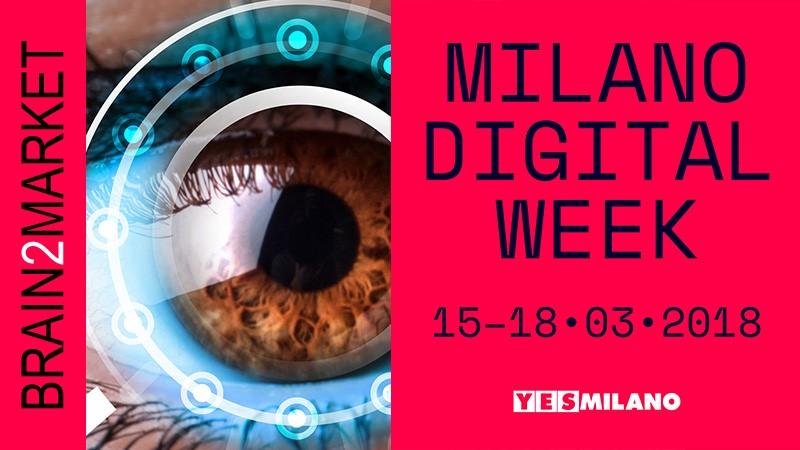 Brain2Market per la Milano Digital Week